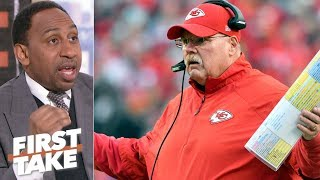 Andy Reid under most pressure on 2018 NFL Championship Sunday – Stephen A. | First Take