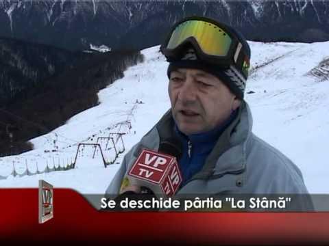 """Se deschide pârtia """"La Stână"""""""