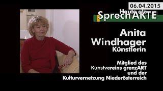 preview picture of video '12/2015 SprechAkte  - Anita Windhager - Künstlerin'