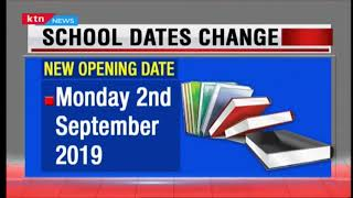 Schools to re-open on Monday 2nd September 2019