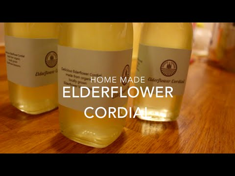 Video Elderflower Cordial Recipe
