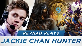 Hearthstone Stream Highlight: Reynad Plays - Jackie Chan Hunter