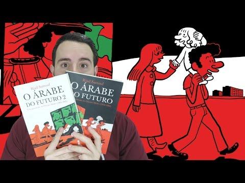 Papo Zine | O Árabe do Futuro Vol. 1 e 2