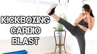 12 Minute Kickboxing Cardio Fat Blast Workout! Metabolism Boost For Weight Loss by PsycheTruth