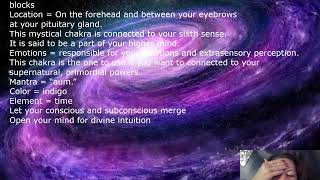 Chakra 6 Wendy Shuttleworth Soul Coach Third Eye Chakra cleaning