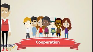 Character Trait - Cooperation - Educational Social Studies Video For Elementary Students & Kids