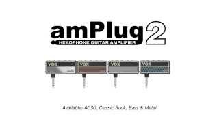 VOX AmPlug V2 Metal - Video