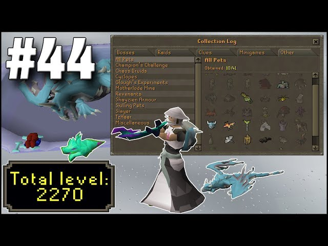 OSRS Ironman Episode 44 - One Skill Left For Max! - Vinepk