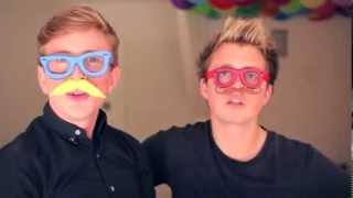 Tyler Oakley And Marcus Butler With Heleum