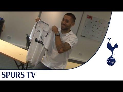 Exclusive - Clint Dempsey's first Tottenham Hotspur Interview
