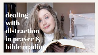 How To Beat DISTRACTION When READING the BIBLE | How To FOCUS When Reading the Bible