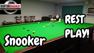 Snooker Lesson Rest Play - Coaching Tutorial
