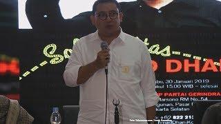 Ahmad Dhani Dibui, Wakil Ketua DPR RI Fadli Zon Galang Solidaritas