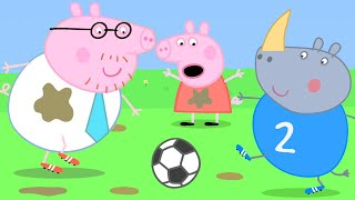Peppa Pig Official Channel ⚽️ Daddy Pig Plays Football in His Shirt