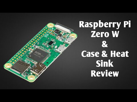 Raspberry pi zero W Tutorials Announcement Video