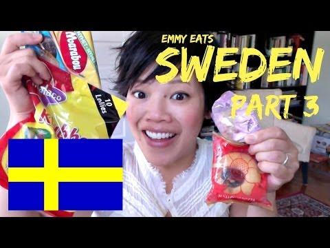 Emmy Eats Sweden Part 3 — tasting more Swedish sweets