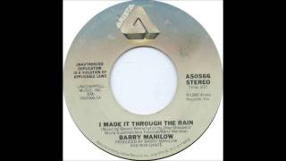 Barry Manilow - I Made It Through The Rain - Billboard Top 100 of 1981