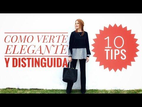 10 Sencillos Consejos Para Lucir Elegante