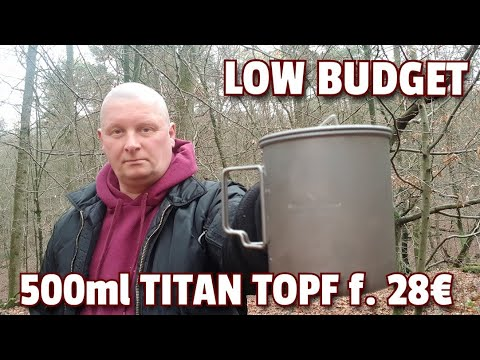 ✔ LOW BUDGET Titantopf/Becher f. 28€