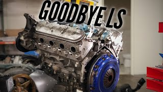 I removed the Piston Engine from my ROTARY Corvette Z06. So much lighter!