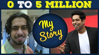 0 to 5 Million | My YouTube Journey | by Him eesh Madaan