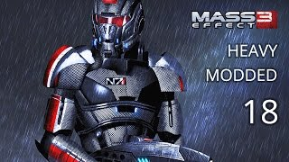 Mass Effect 3 Modded Walkthrough - Hardcore - Vanguard - Episode 18 - Thessia Pt 2