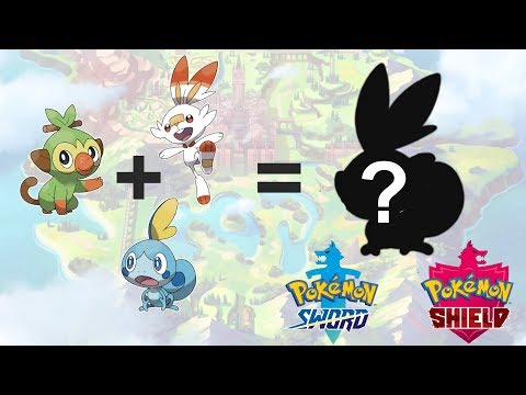 Grookey Scorbunny Sobble Evolution Pokemon Sword Shield Fanart