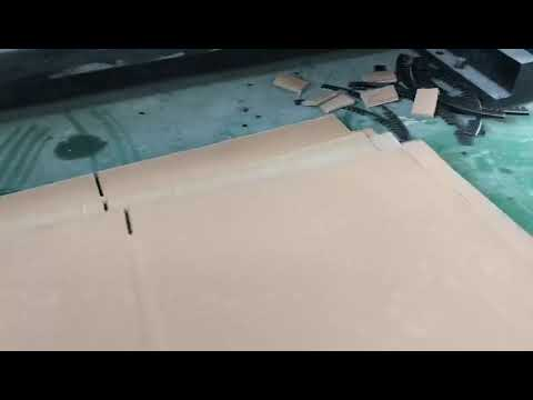 SCBC-C33 Flexo Printer Slotter Lead Edge Feeding Die Cutter Machine