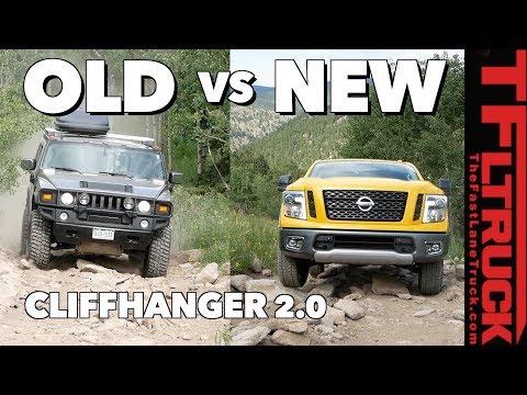 Old vs New: Nissan Titan vs Hummer H2 vs Cliffhanger 2.0 – Titan Trials Ep.3