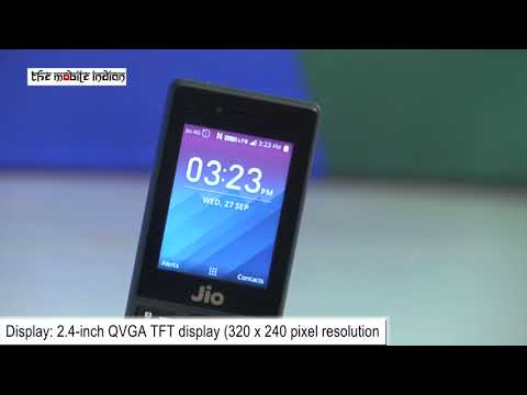 First Look: Reliance JioPhone