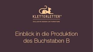 KletterLetter® • Exklusive Designer Katzenmöbel • Luxury Cat Furniture • Modell B • Made In Germany