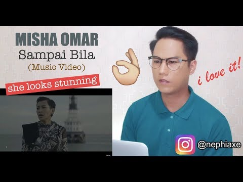 Misha Omar Sampai Bila Music Video Reaction