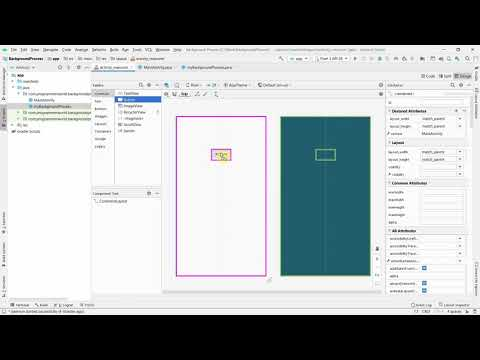 How to create background process in your Android App?