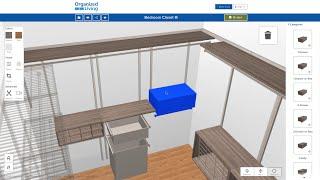 New 3D Closet Design Tool | OrganizedLiving.com