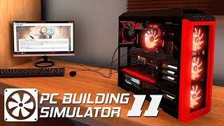 ТРЕТИЙ РАБОЧИЙ СТОЛ! - #11 ПРОХОЖДЕНИЕ PC BUILDING SIMULATOR