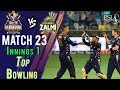 watch Quetta Gladiators Bowling | Quetta Gladiators Vs Peshawar Zalmi | Match 23 | 10 March | HBL PSL 2018