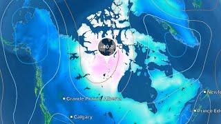 POLAR VORTEX -40 Temps Manitoba + Northern Canada / Pole Flip / Earthquake Update November, 17, 2018
