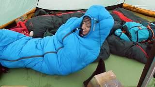 Sacco a pelo alpinismo Makalu I Down da Decathlon | Recensione