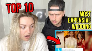 Top 10 Most Expensive Indian Weddings | Reaction!
