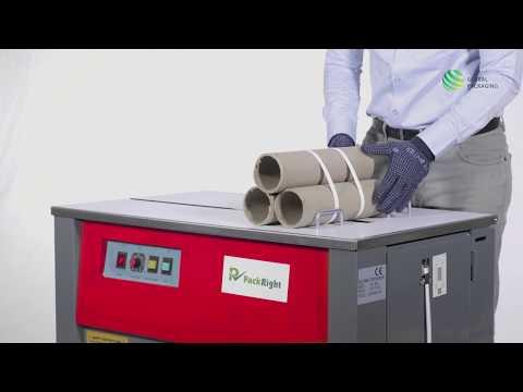PACKRIGHT Heavy Duty Semi Automatic Box Strapping Machine - Model No PR HD 1