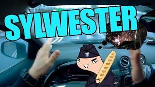 SYLWESTER w dużym mieście oczami POLICJANTA