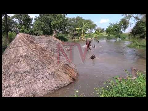 5000 people displaced by flooding along lake Kwania