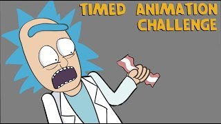 TIMED ANIMATION CHALLENGE: Inspired By Draw With Jazza