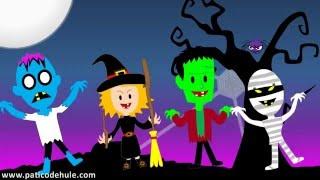 Canción de Halloween para niños - Un monstruo en la ventana