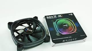 AeroCool Astro 12cm Computer Fan | Краткий обзор