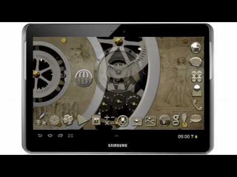 Video of Clockwork LWP Davinci HD
