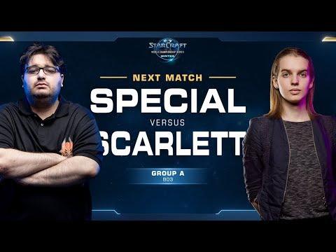 Scarlett vs SpeCial ZvT - Ro16 Group A - WCS Winter Americas (видео)