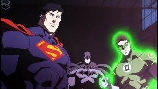 Mother boxes open the portal | Justice League: War