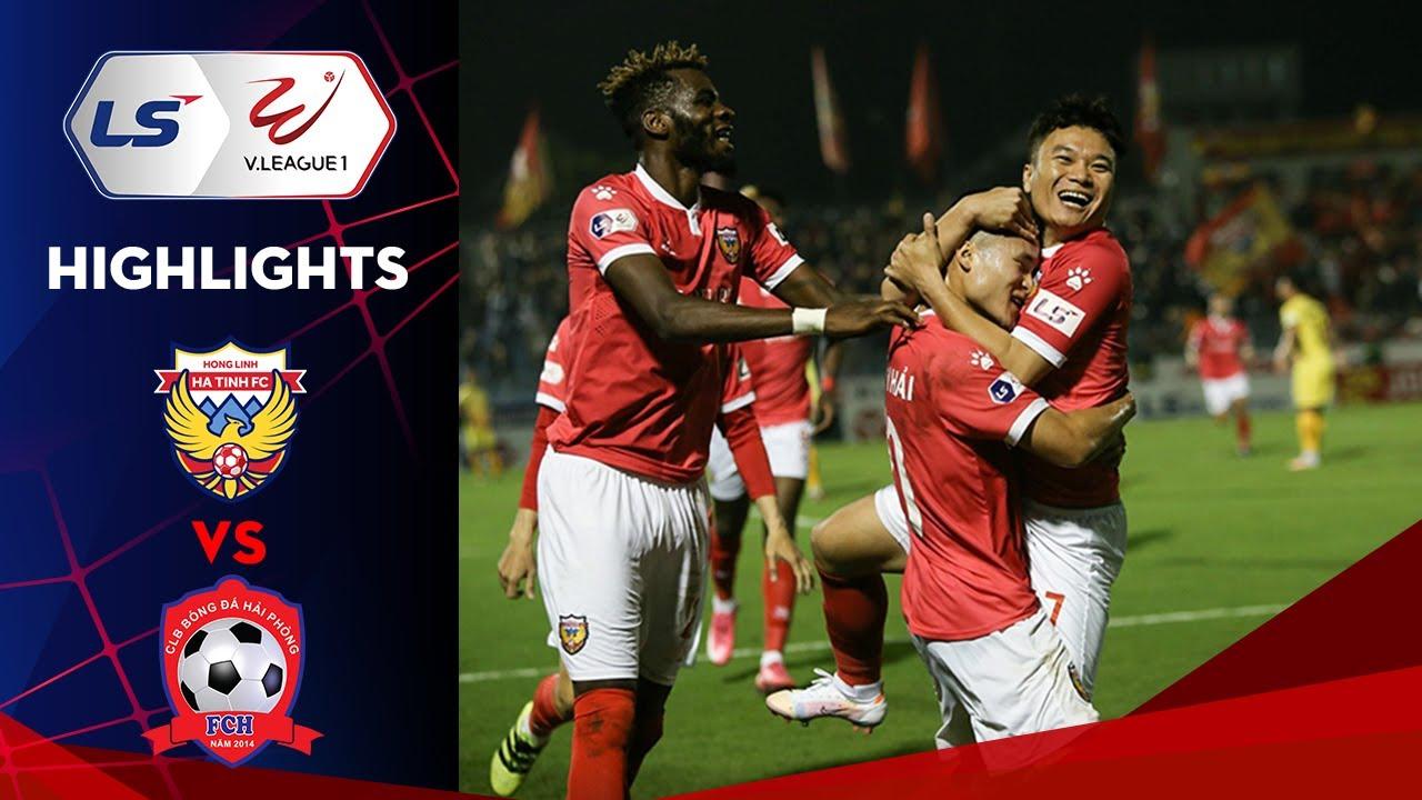 Highlights | Hồng Lĩnh Hà Tĩnh - Hải Phòng | Chiến thắng quả cảm của đội chủ nhà