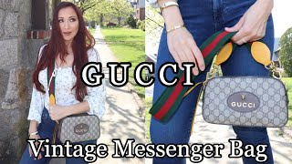 Gucci Review- Neo Vintage GG Supreme Messenger Bag